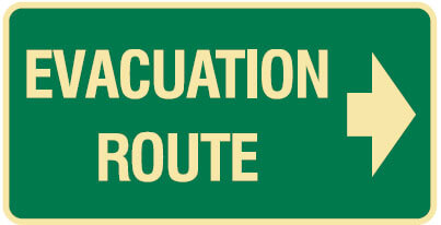 Hurricane evacuation routes